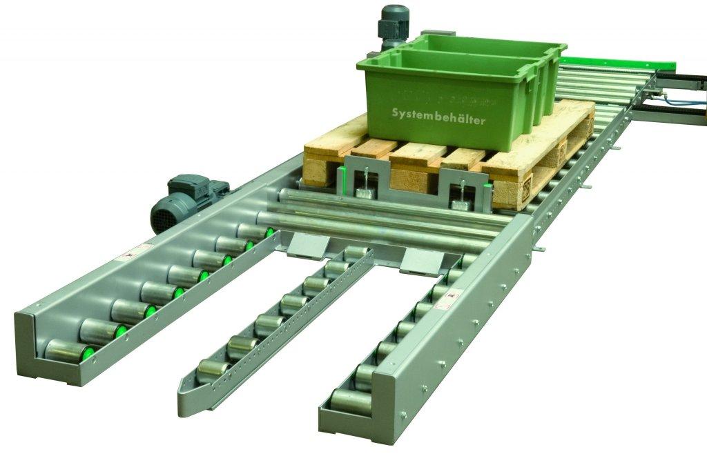 Palettentransport Wtt Fordertechnik Gmbh