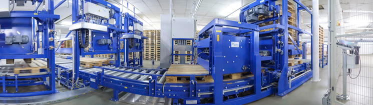 Pallet sorting systems